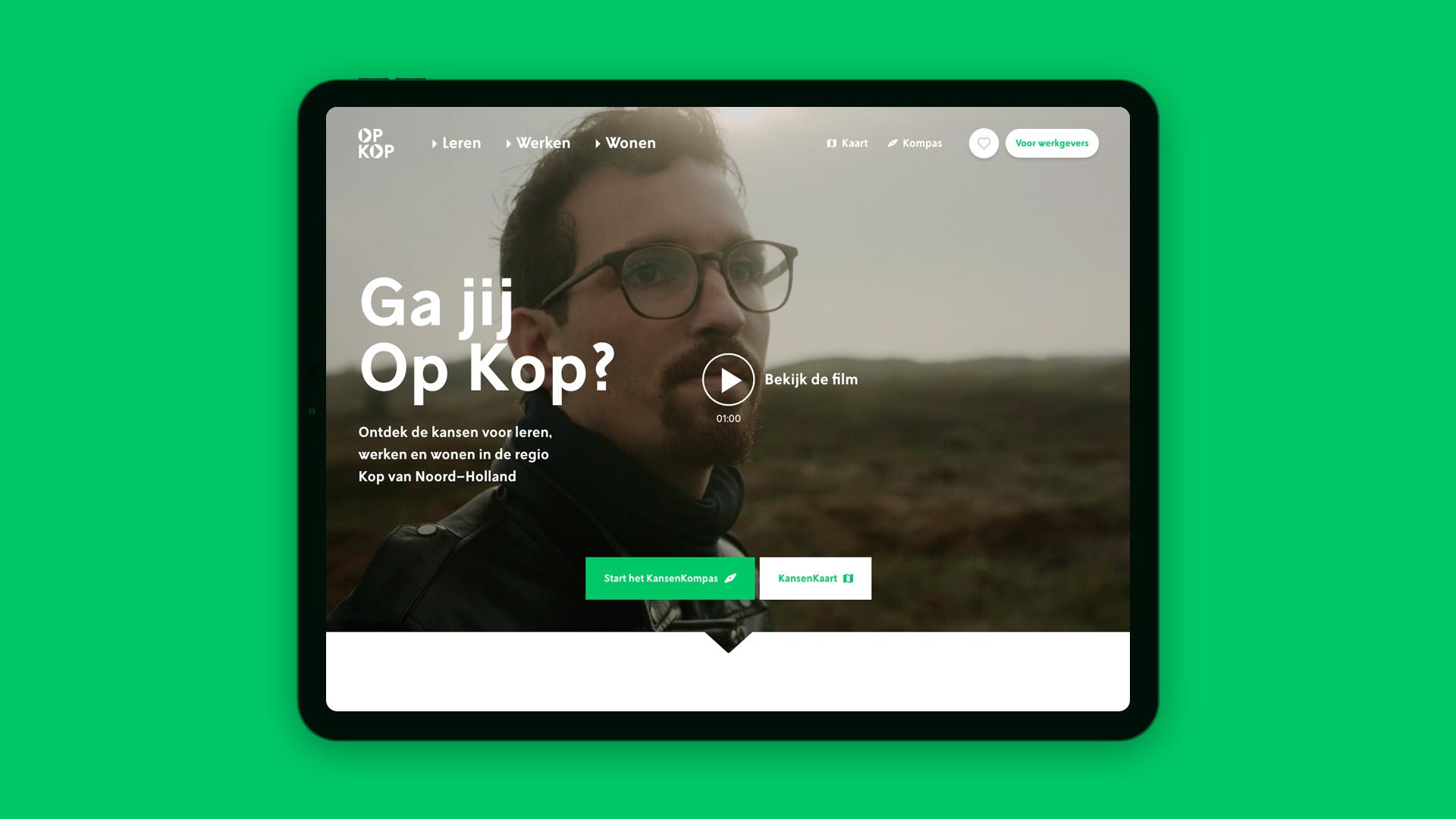 OpKop-website